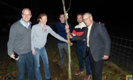 Eerste boom voedselbos geplant