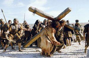 keresztet cipelő jezus