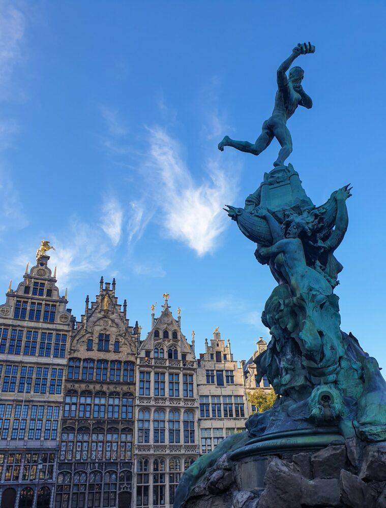 Het Gezinsleven - Uitstapjes - Bezienswaardigheden - De top 3 leukste steden van België! - Beeld in Antwerpen