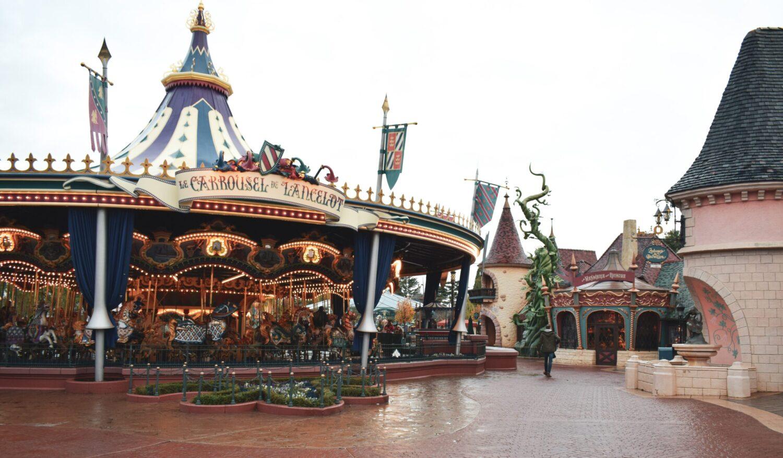 Het Gezinsleven - Uitstapjes - Pretparken - Disneyland Parijs - De carrousel
