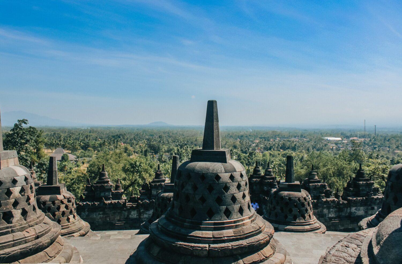 Het Gezinsleven - Vakanties - Verre Reizen - De mooiste plekken in Indonesië - Borobudur, Boeddhistische tempel op Java