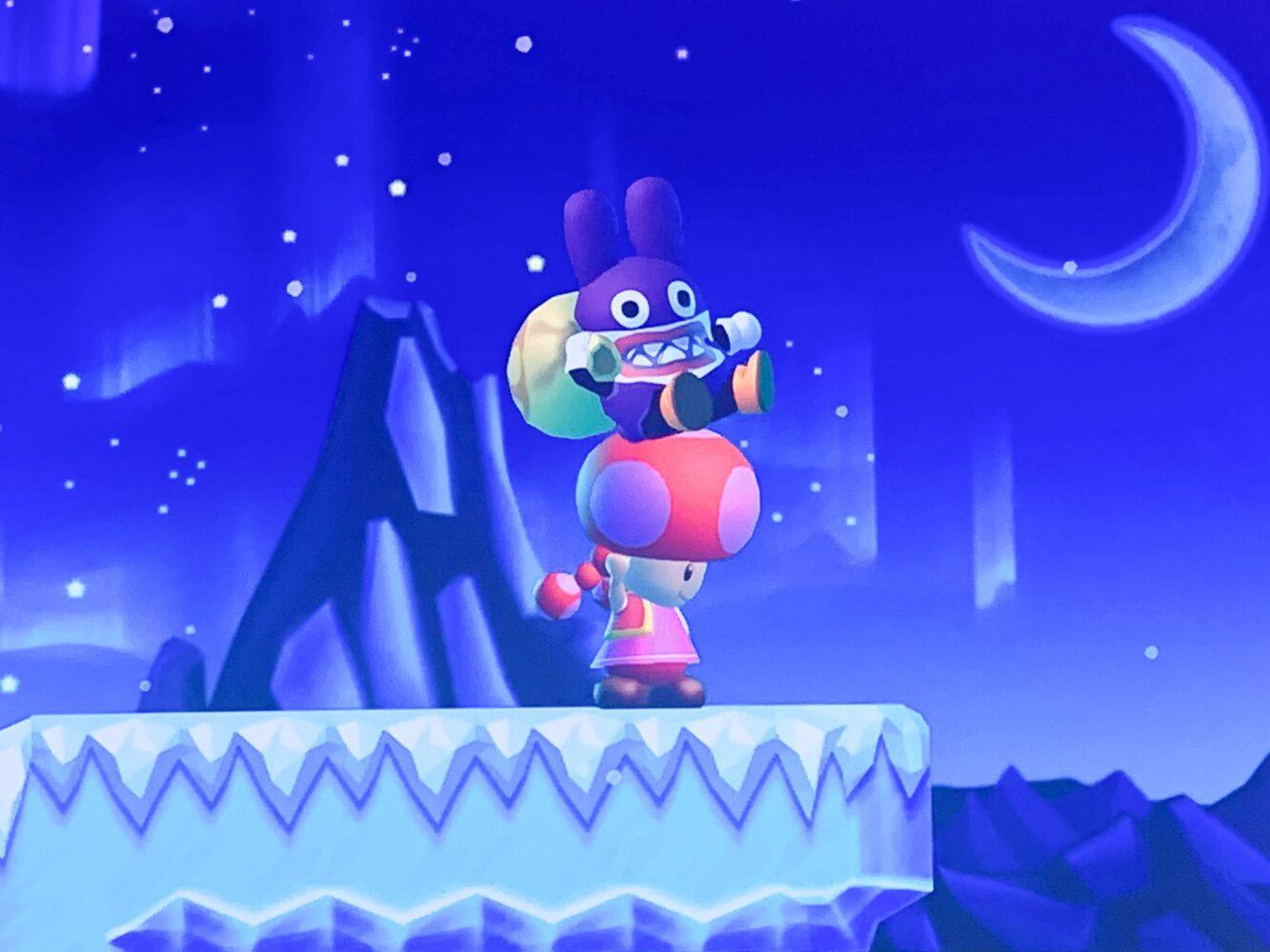 Het Gezinsleven - Gezinsactiviteiten - Media en Techniek - New Super Mario Bros. U Deluxe - Nabbit is gevangen