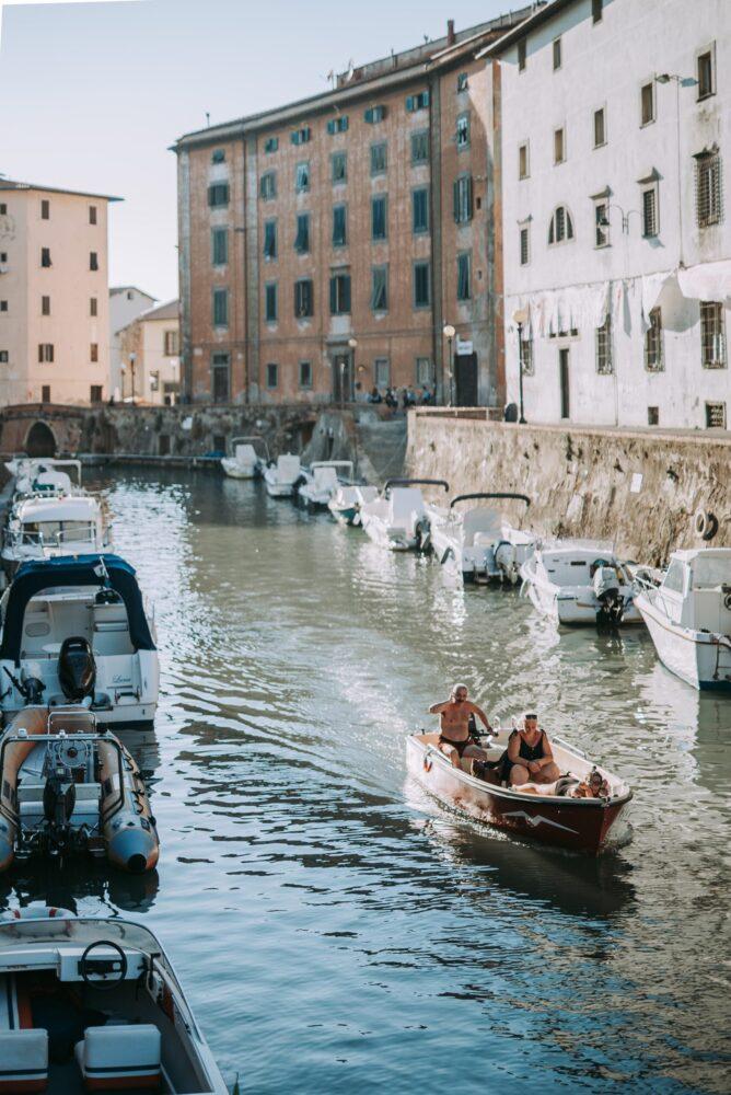 Het Gezinsleven - Vakanties - Europa - De 10 mooiste steden in de Toscane - de haven van Livorno
