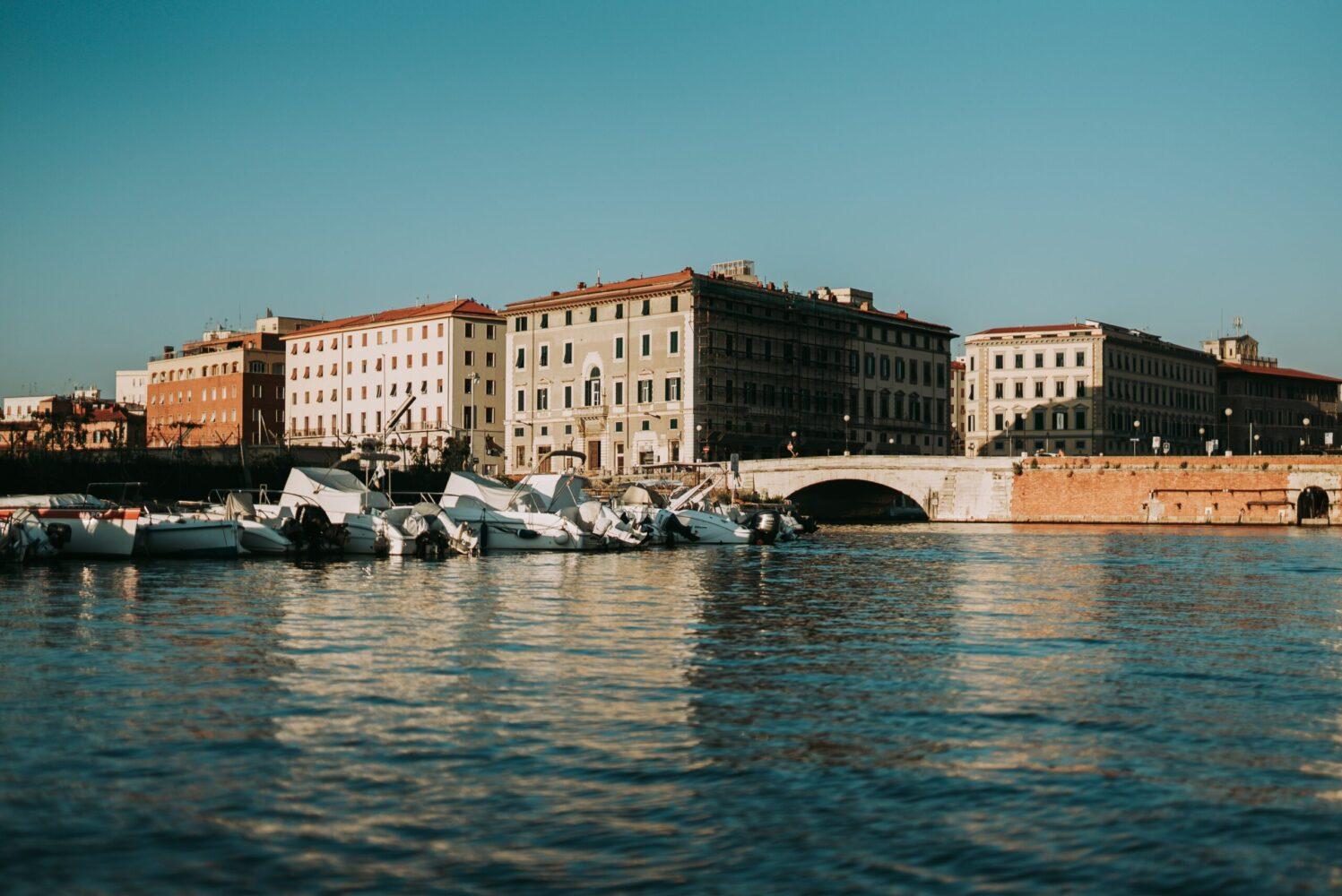 Het Gezinsleven - Vakanties - Europa - De 10 mooiste steden in de Toscane - Livorno vergezicht