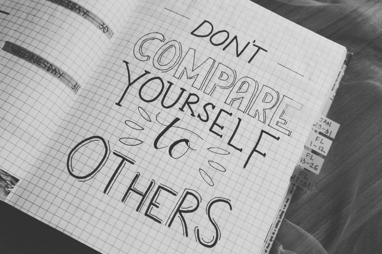 Het Gezinsleven - Lifestyle - Mindset - 10 stappen om je zelfvertrouwen te vergroten - Vergelijk jezelf niet met anderen
