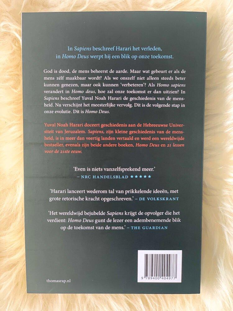 Het Gezinsleven - Lifestyle - Hobby's - Boeken - Boek recensie Yuval Noah Harari: Sapiens, Homo Deus en 21 lessen voor de 21ste eeuw - Homo Deus