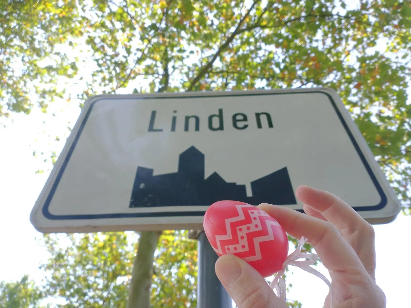 Het Gouden Ei van Linden bord