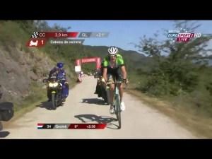 Gesink op kop in de Vuelta 3-9-14