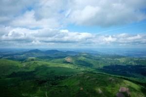 Uitzicht vanaf Puy de Dôme