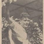 Pellenaars, winnaar bij de profs 1936 (foto: Nieuwe Apeldoornsche Courant)