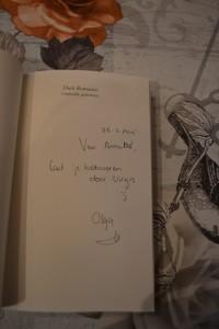 Handtekening Olga 2