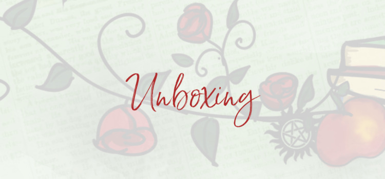 Unboxing: Bookish boyfriends box van Letters & Lights