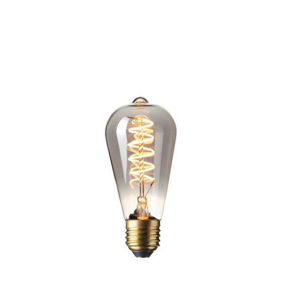 Calex LED Flex Edison 4W Titanium 2100K 425753