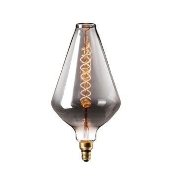 Calex XXL Vienna LED 6W E27 Titanium 2200K 425954