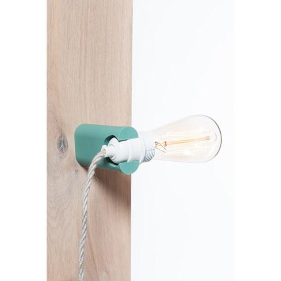No.16 wandlamp turquoise
