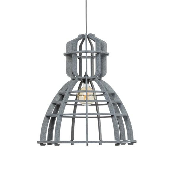 No.19XL hanglamp PET Felt Light Grey  60cm by Olaf Weller