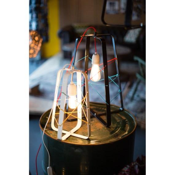 No.31 Tafellamp lichtkooi Large ZWART