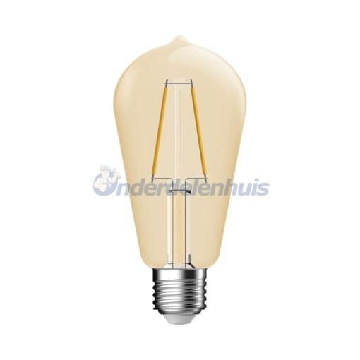 LED Deco E27 2,8W Goud Helder Energetic