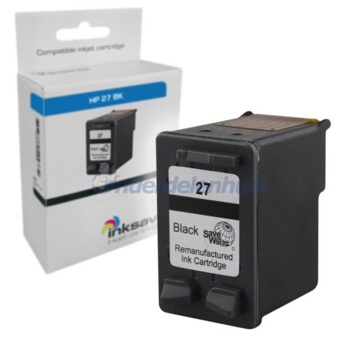 Inkt HP 27BK Inktcartridge Inksave