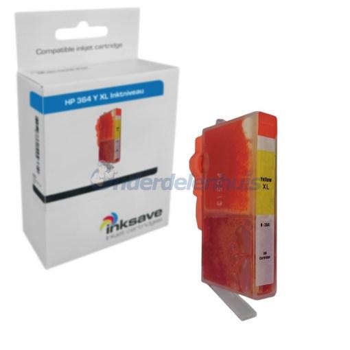 HP 364 Yellow Geel Inksave Inkt Inktpatroon