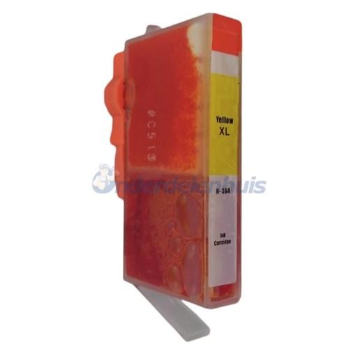 Inkt HP 364 Yellow Geel Inktpatroon Inksave