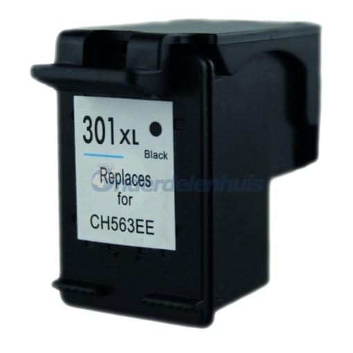 HP Inkt Inksave 301 Zwart Inktpatroon Inkt cartridge