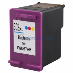 Inksave HP 302 Kleur Inktpatroon Inkt cartridge