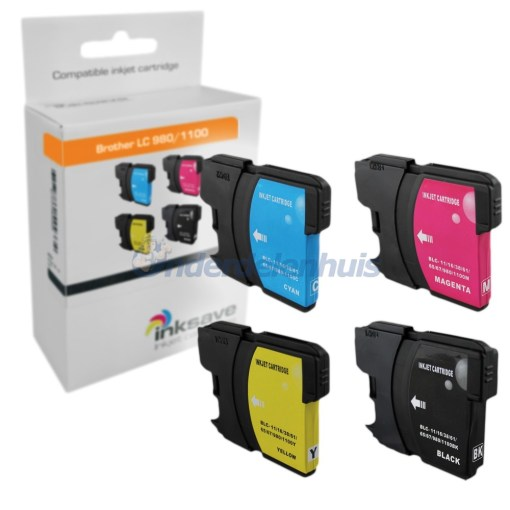Brother Inkt Multipack Inksave Inktpatroon LC980/1100