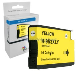 Inksave 953Y Geel Inkt Inkt cartridge