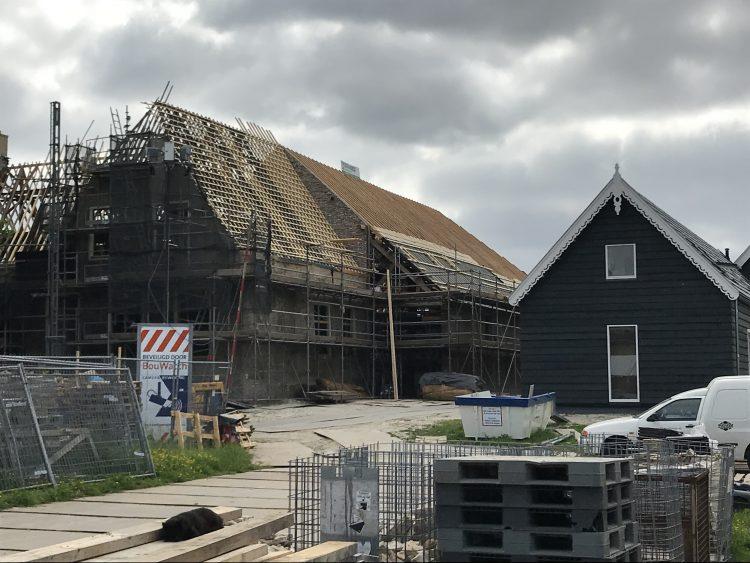 Renovatie van de boerderij