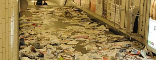 Métro détox journaux gratuits