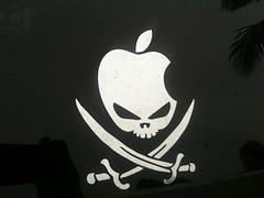 Drapeau pirate de Macintosh