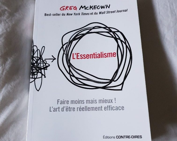 l'essentialisme de Greg McKeown