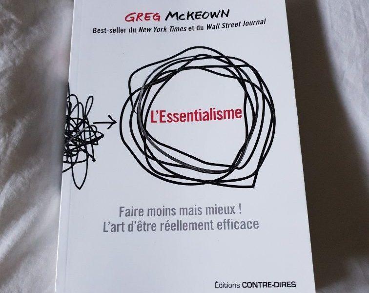 l'essentialisme de Greg McKeown