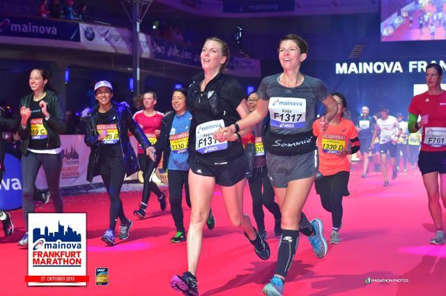 ligne d'arrivée du marathon