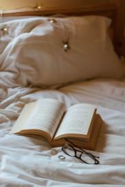 lecture dans une routine du soir
