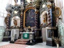 Naumburg Altar Wenzelskirche von der Seite