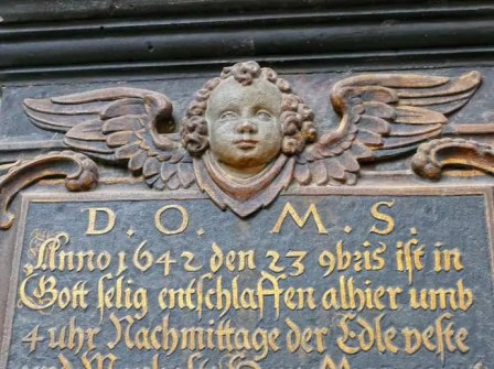 Stein Figur Wenzelskirche Naumburg