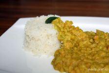 Indisches Dal mit Reis