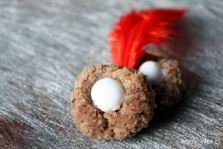 Weihnachtsgebäck mit Nüsse und Zimt