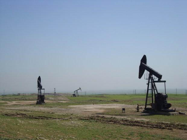 Нефтяное поле в Рожаве