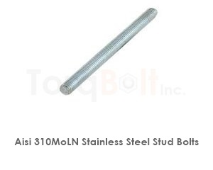 Aisi 310moln Stainless Steel Stud Bolts