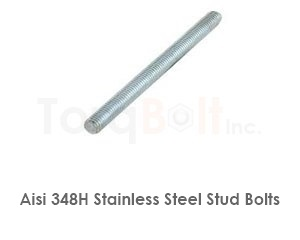 Aisi 348h Stainless Steel Stud Bolts