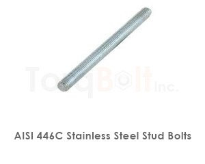 Aisi 446c Stainless Steel Stud Bolts
