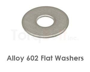 Alloy 602 Flat Washers