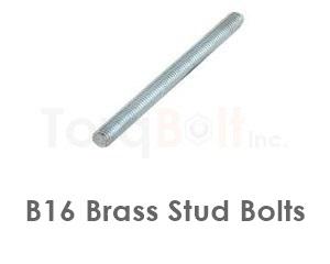 B16 Brass Stud Bolts