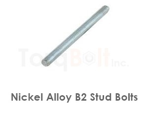 Hastelloy B2 Stud Bolts