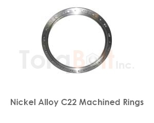 Hastelloy C22 Rings