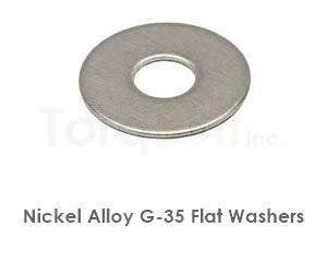 Hastelloy G-35 Flat Washers