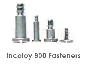 Incoloy 800 Fasteners Heavy Hex Bolts Screws Nuts Washers